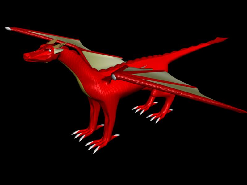 Dragon 2 Neutral Pose