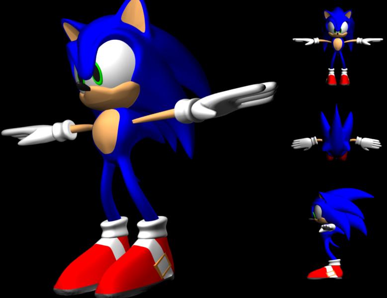 Sonic Model - Neutral Pose