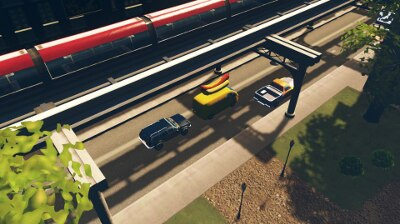 Steam: Asymetric Road with Monorail