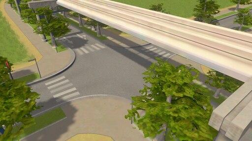 Steam: Monorail One Way with Plants