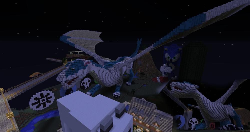 Minecraft Statue - Cela