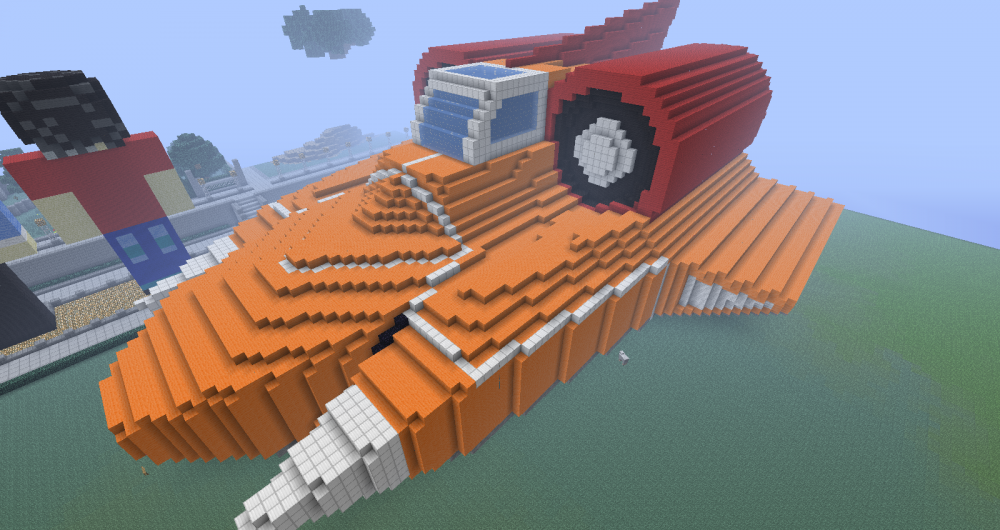 Minecraft Statue - Spirit of Flames